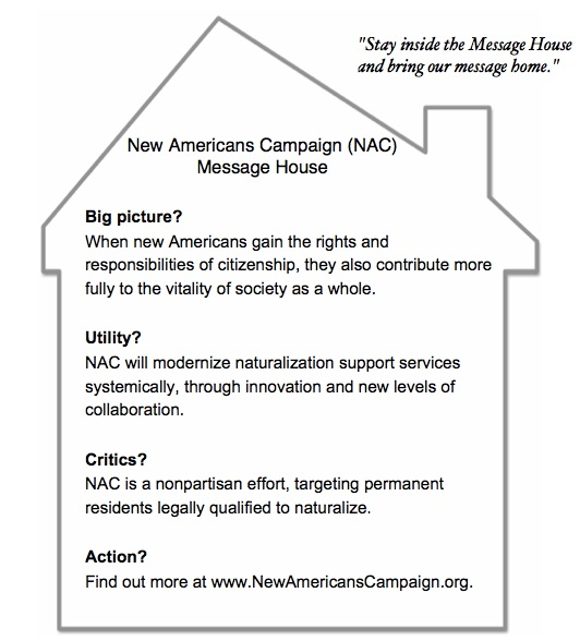 NAC Message House Example 2 - Message House